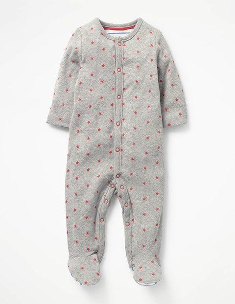 Boden Gemütlicher Schlafanzug mit Muster Grey Jungen Boden  |