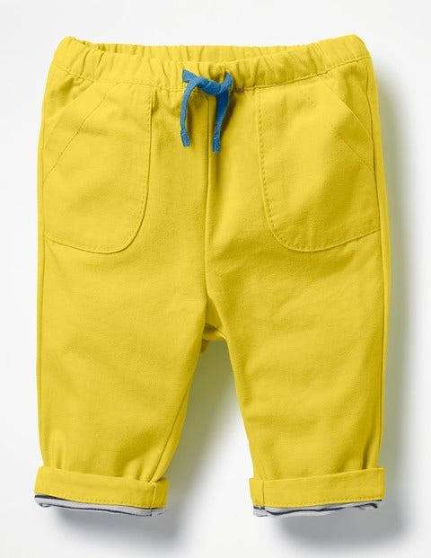 Pull-On Trousers - Sweetcorn Yellow