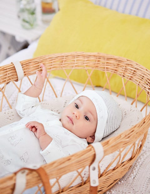 Baby Gifting Set - Shale Grey Farmyard