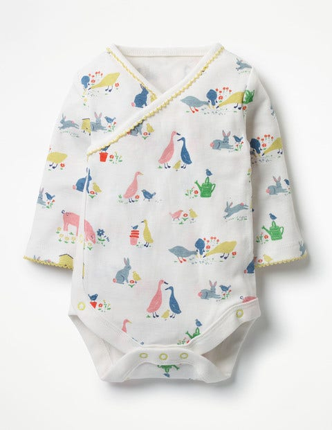 Printed Wrap Body - Farmyard Animals