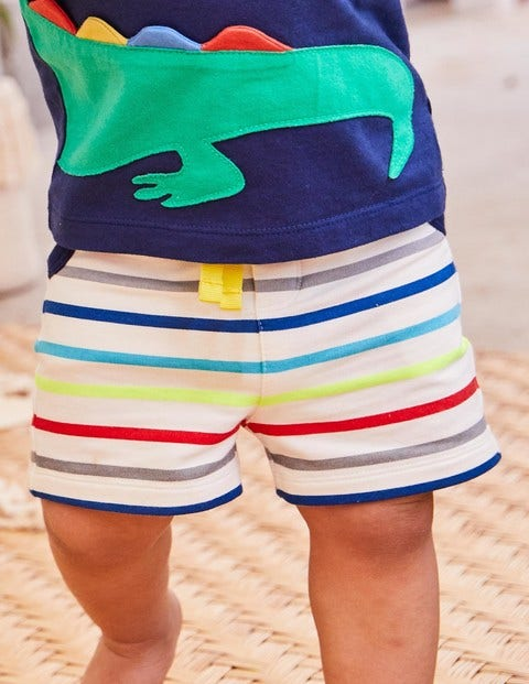 Jersey Shorts - Fun Stripe
