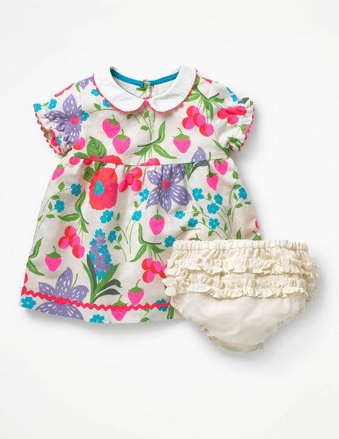 39edd285e95c Peter Pan Collar Dress - Multi Summer Fruit   Boden UK