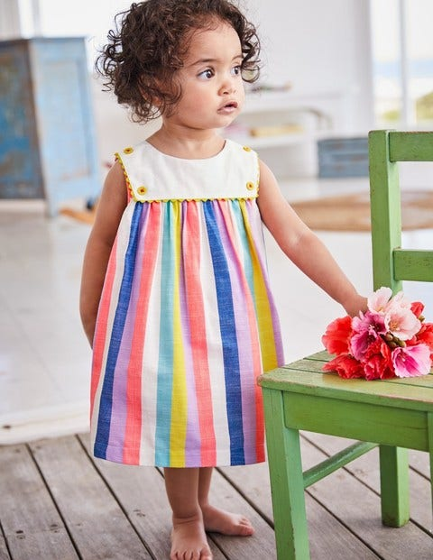 Rainbow Sailor Dress Y0293 Day Dresses At Boden