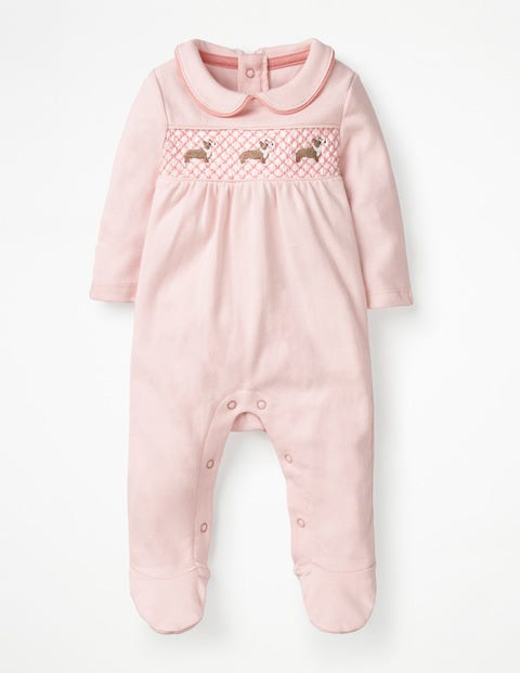 Boden Schlafanzug mit Corgi-Motiv Pink Baby Boden pink |