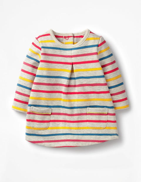 Cosy Dress - Sparkle Multistripe