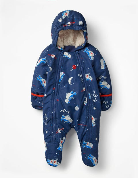 Space Robots Snowsuit - Beacon Blue Space Robots
