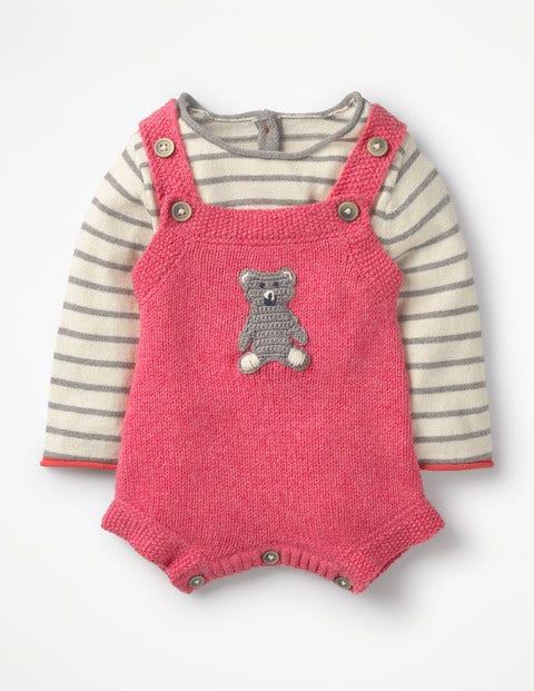 Boden Gemütliches Strampler-Set Pink Baby Boden pink |