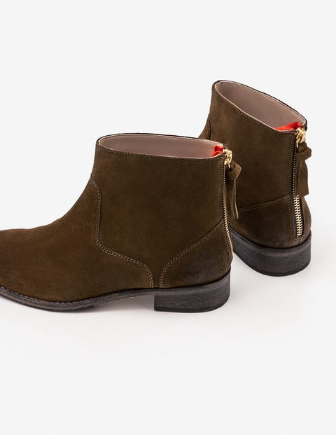 Kingham Ankle Boots - Military Green