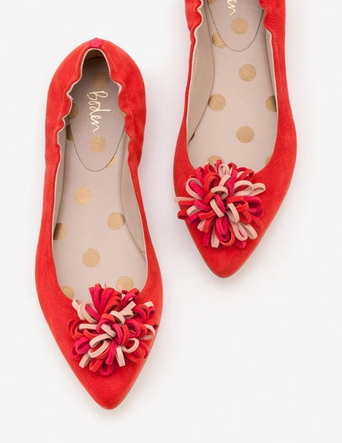 Belle Flats - Post Box Red