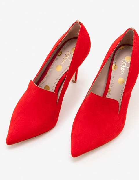 Millie Heels - Post Box Red