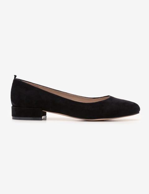 Amelie Low Heel Ballerinas - Black