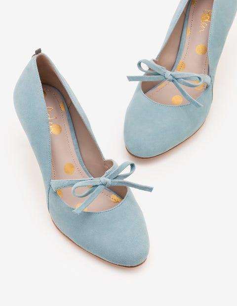 Anthea Mid Heels - Heritage Blue