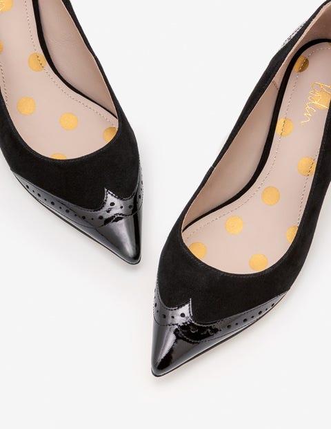 Rosamund Kitten Heels - Black