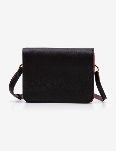 Broadgate Crossbody Bag - Black