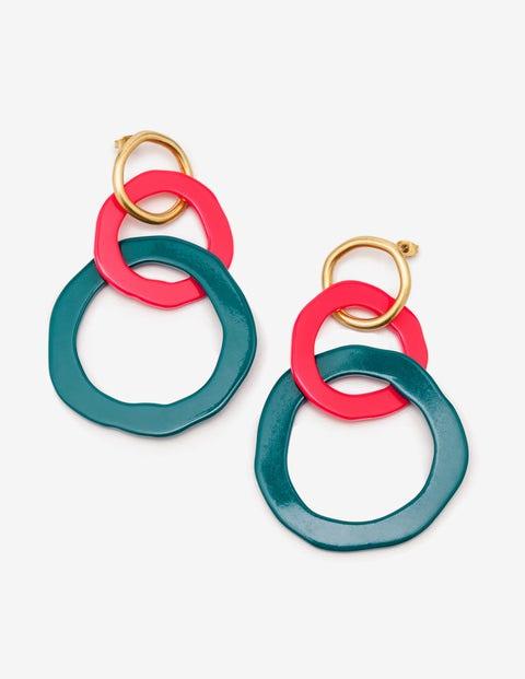 Colourpop Earrings - Drake and Pop Peony