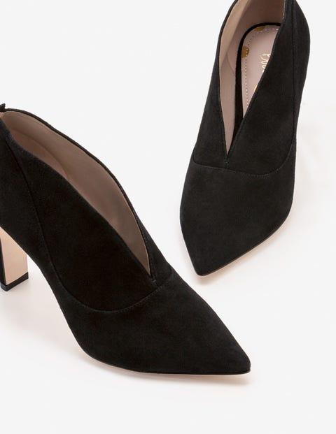 Roseberry Heeled Boots - Black