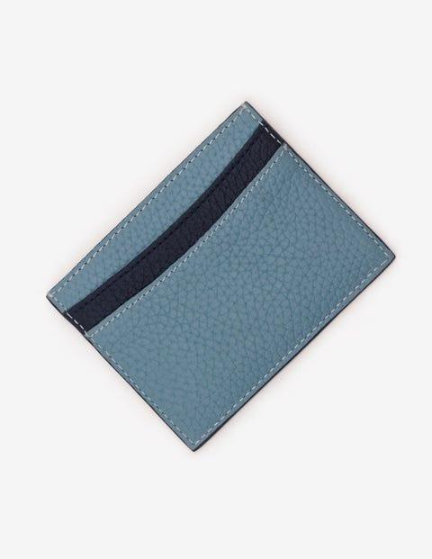 - Boden Kartenhalter aus Leder Blue Damen Boden, Blue blau |