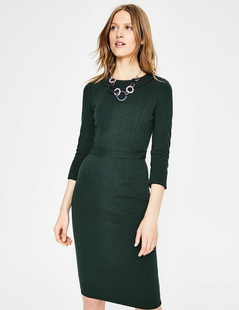 Mia Ottoman Dress - Chatsworth Green
