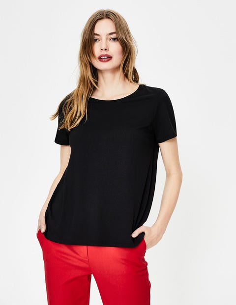 Supersoft Easy Tee - Black