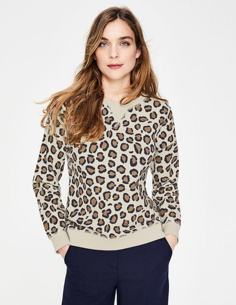 Arabella Sweatshirt - Leopardenmuster