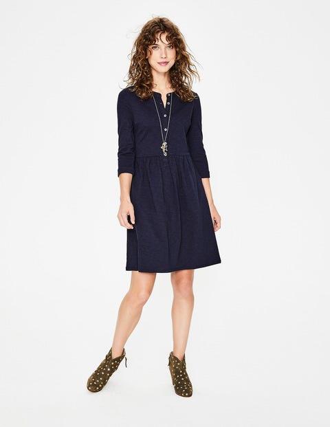 Briar Jersey Dress - Navy