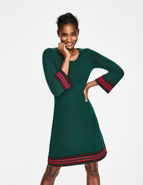 Trudy Knitted Dress - Seaweed
