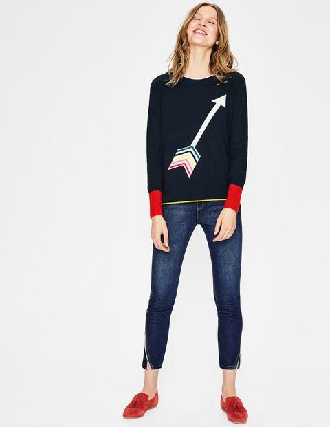 Romy Sweater - Arrow Intarsia