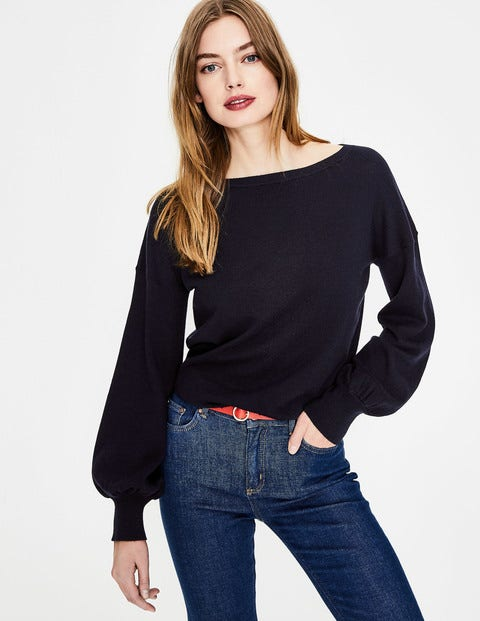 Muriel Sweater - Navy