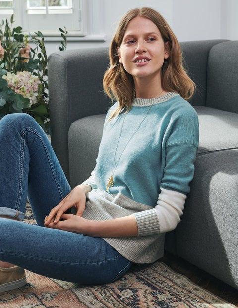 Lowick Sweater - Heritage Blue/Silver Melange