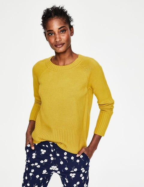 Heidi Sweater - English Mustard