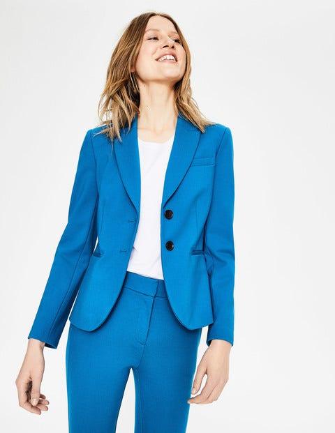 boden - Elizabeth Ponte-Blazer Blue Damen , Blue