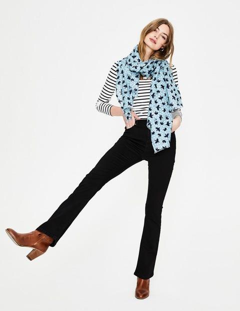 Marylebone Slim Bootcut Jeans - Black
