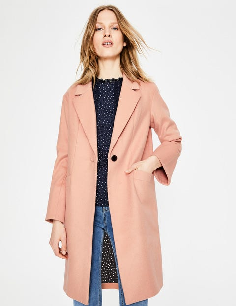 Holywell Coat - Antique Pink