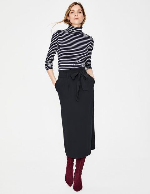 Melina Paperbag Skirt - Black