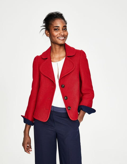 Horsell Jacket - Post Box Red