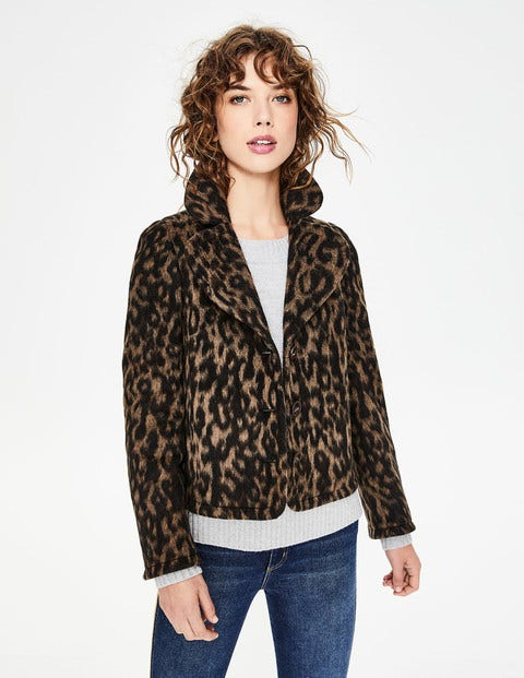 Horsell Jacket - Leopard
