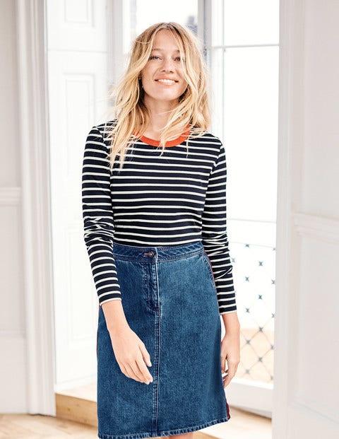 Penny Denim Skirt - Mid Vintage