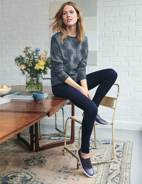 Hampshire Skinny Trousers - Navy
