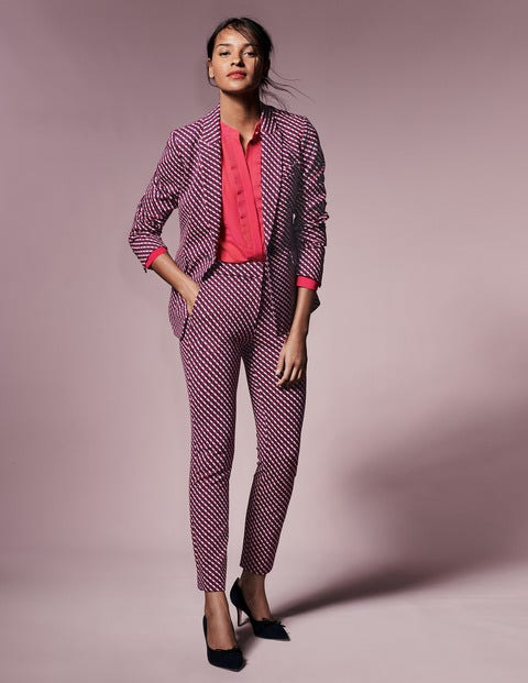 Nell Ponte Blazer T0219 Coats Jackets At Boden