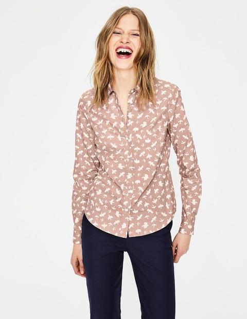 Modern Classic Shirt - Milkshake, Fleeting Birds