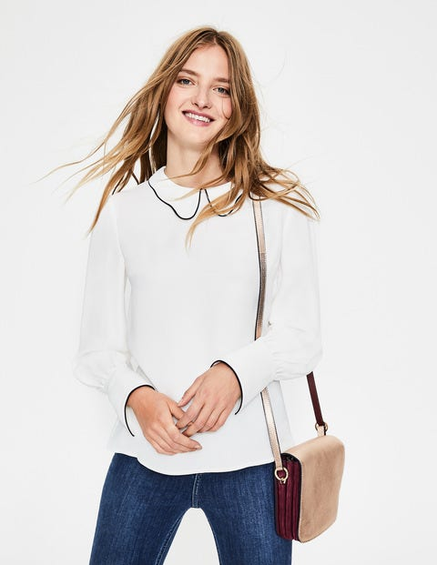 Maggie Top - Ivory