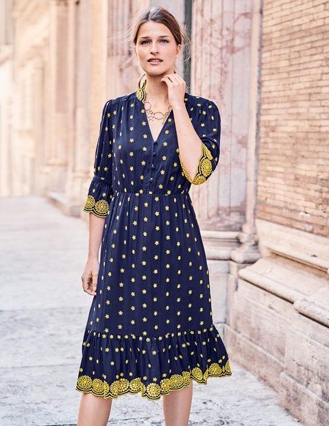 Prächtig Bronwen Kleid mit Stickerei W0207 Kleider für besondere Anlässe #BI_58