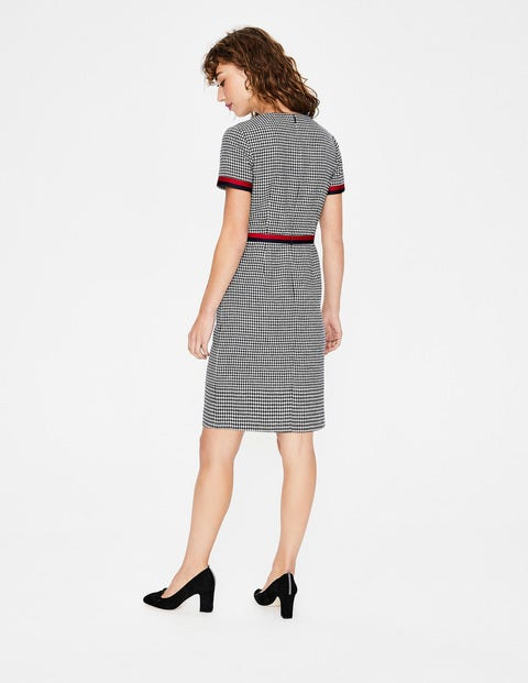 Adelaide Tweed Dress W0221 Smart Day At Boden
