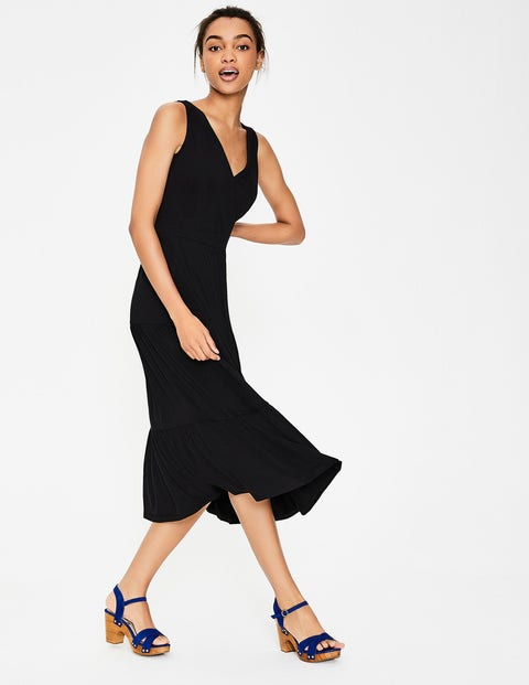 Nicole Jersey Dress - Black
