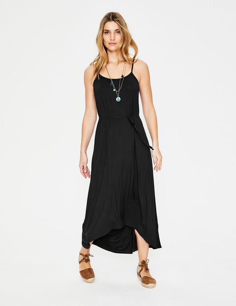Jemma Jersey Dress - Black