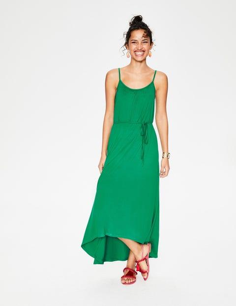 Robe Jemma en jersey - Vert Printemps