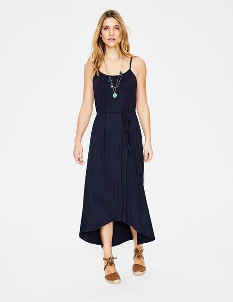Jemma Jersey Dress - Navy