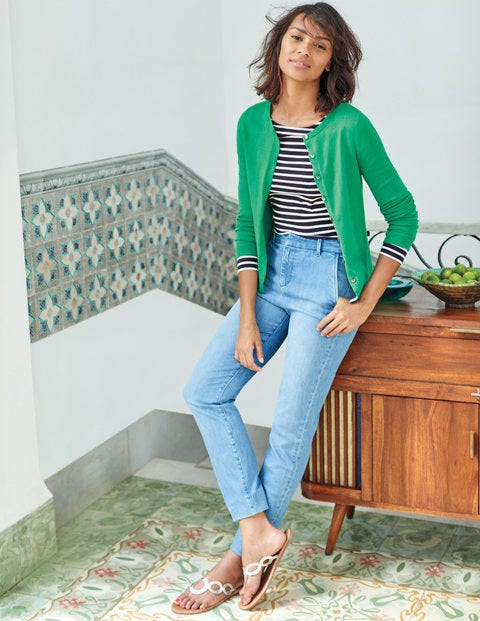 Favourite Crew Cardigan K0008 Sweaters At Boden