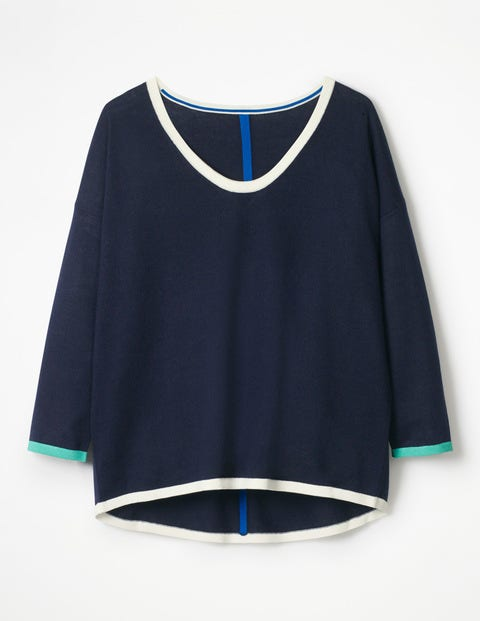 Angeline Sweater - Navy