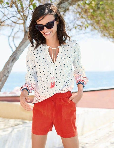Talia Shorts - Blood Orange
